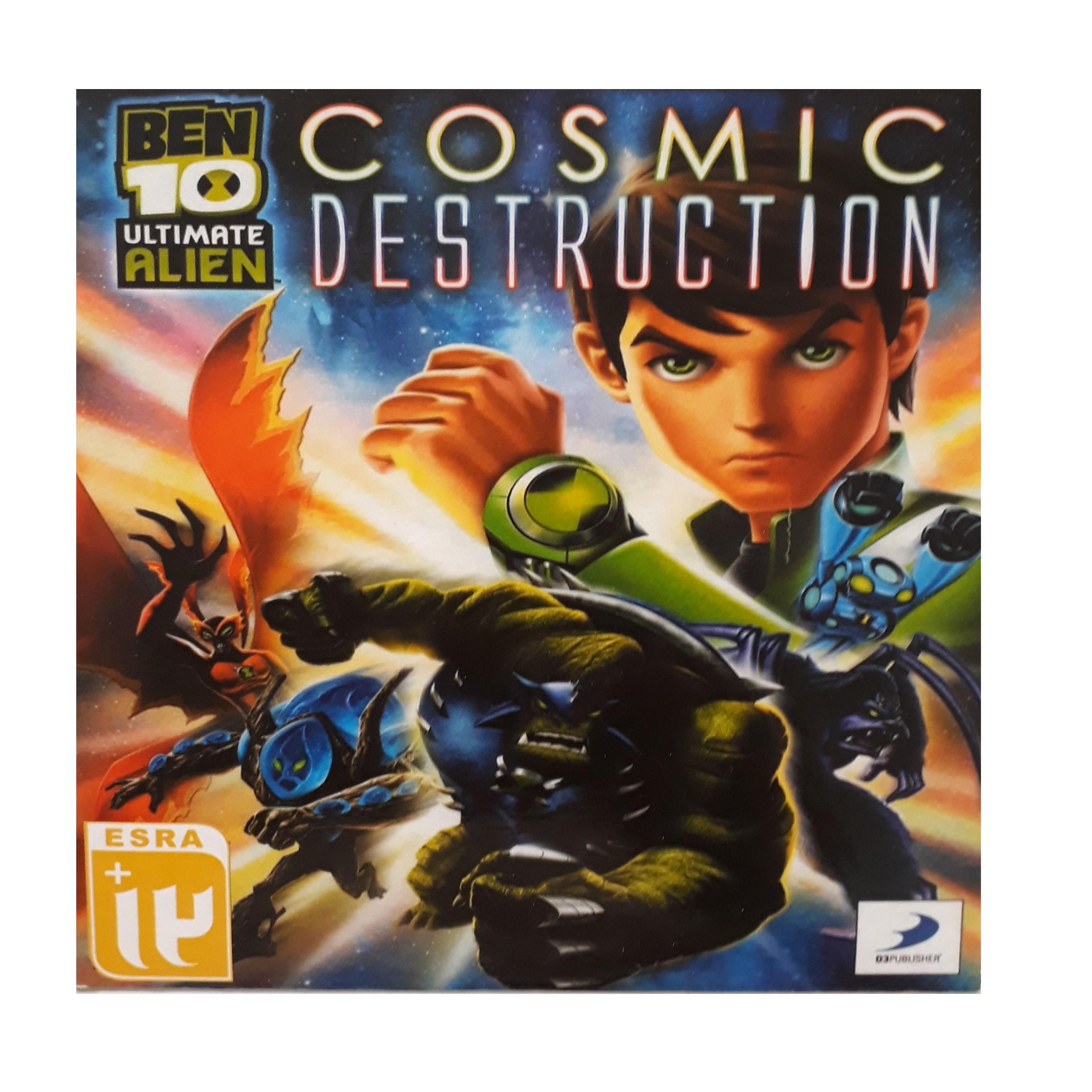 بازی  ben 10 ultimate alien cosmic destruction مخصوص ps2