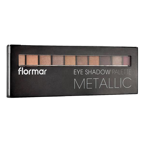 پالت سایه چشم فلورمار مدل metallic