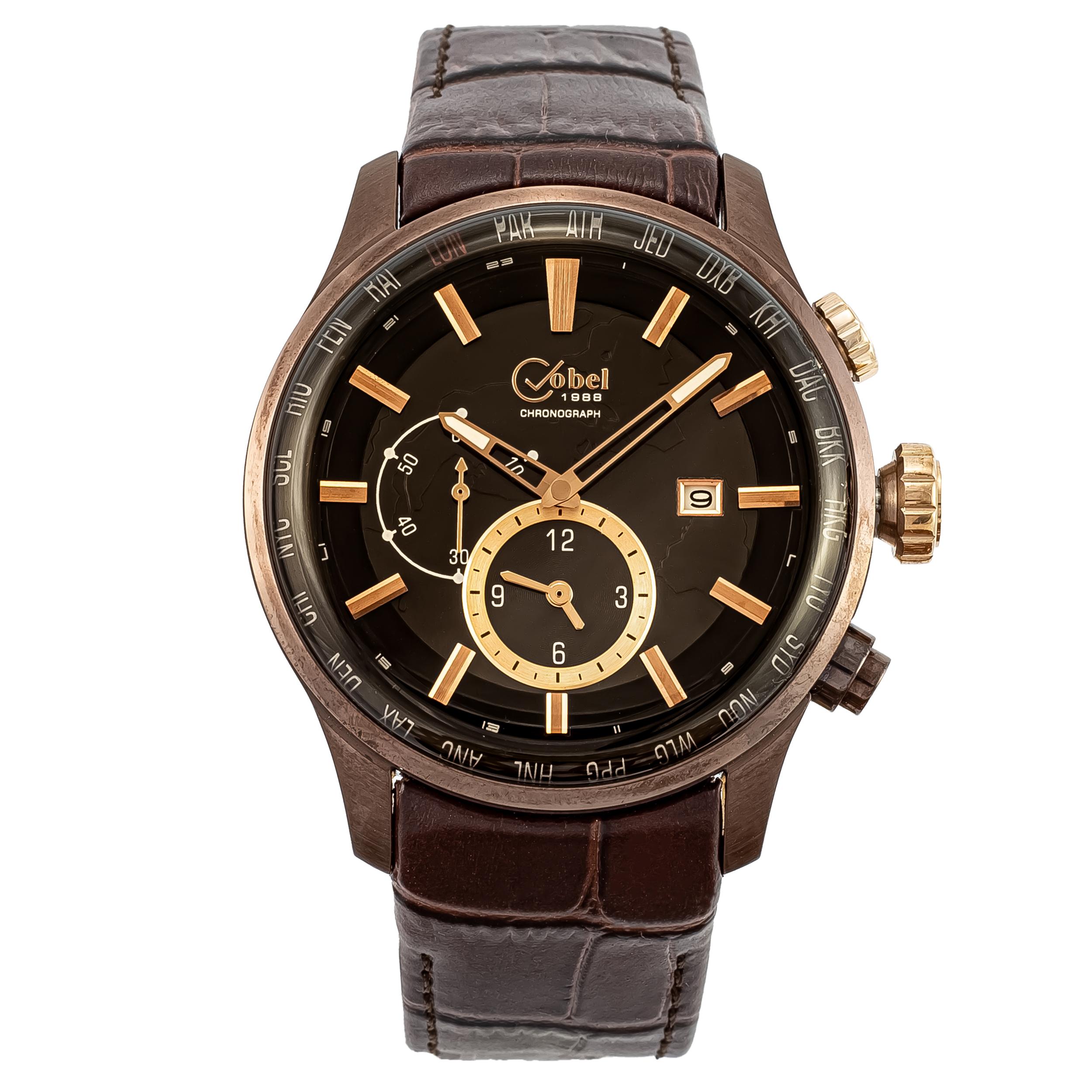 ساعت مچی عقربهای مردانه کوبل مدل CB6104