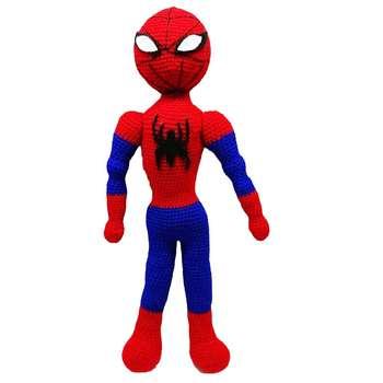 عروسک بافتنی مدل مرد عنکبوتی کد 1