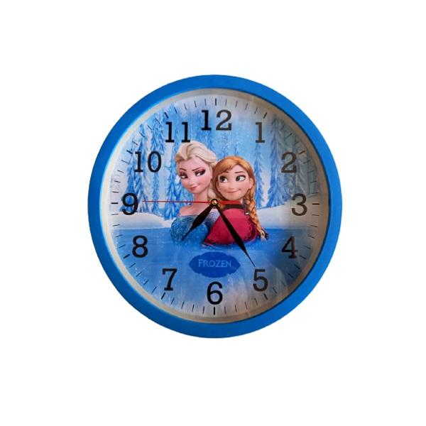 ساعت دیواری کودک مدل فروزن کد 205