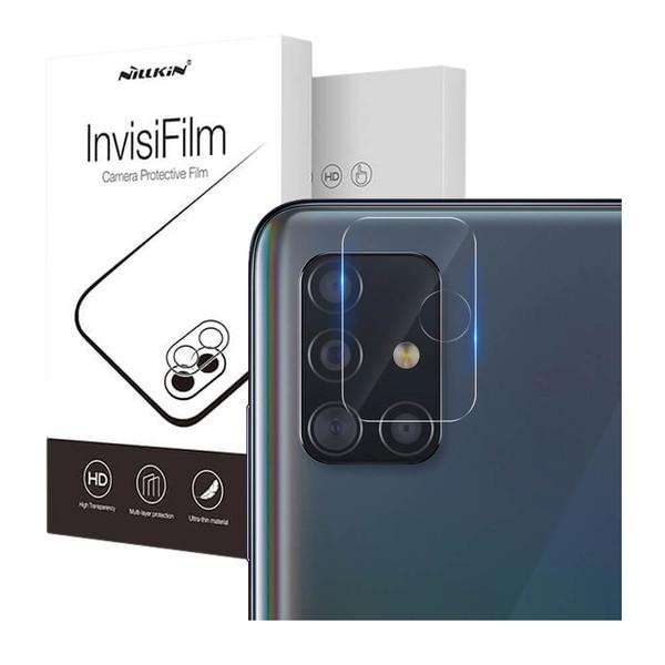 محافظ لنز دوربین نیلکین مدل InvisiFilm مناسب گوشی موبایل سامسونگ Galaxy A51