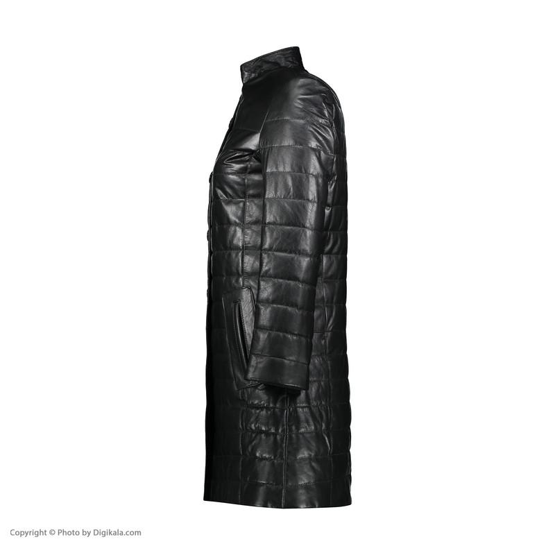 کت چرم زنانه شیفر مدل 2803S-01