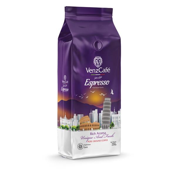 پودر قهوه اسپرسو دارک ونزکافه - 250 گرم