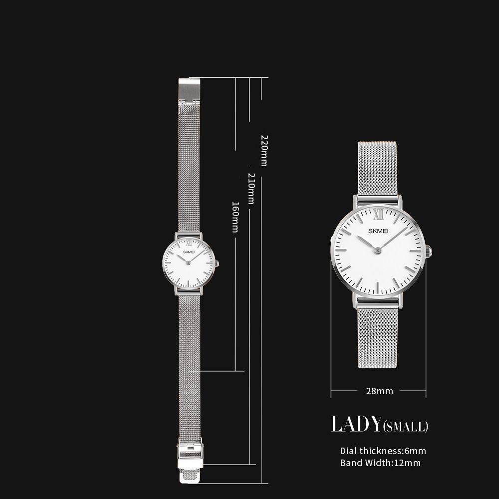 ساعت مچی عقربه ای زنانه اسکمی مدل 1185S-NP -  - 5