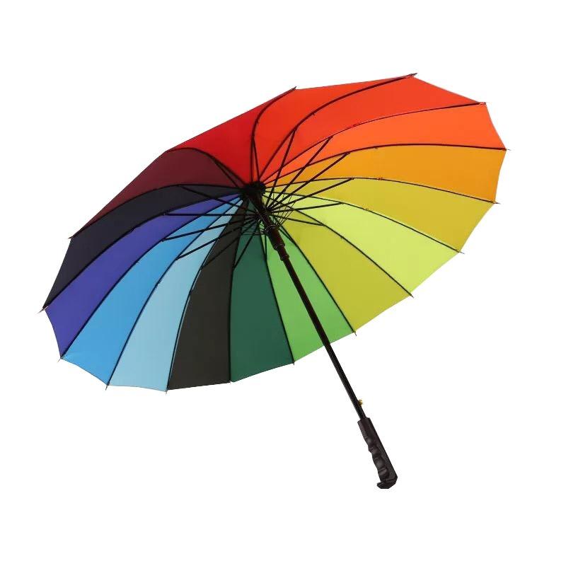 چتر مدل رنگین کمان کد 1002