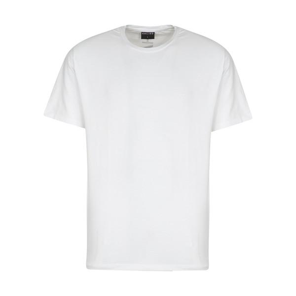 تیشرت آستین کوتاه مردانه ان سی نو مدل تراف رنگ سفید
