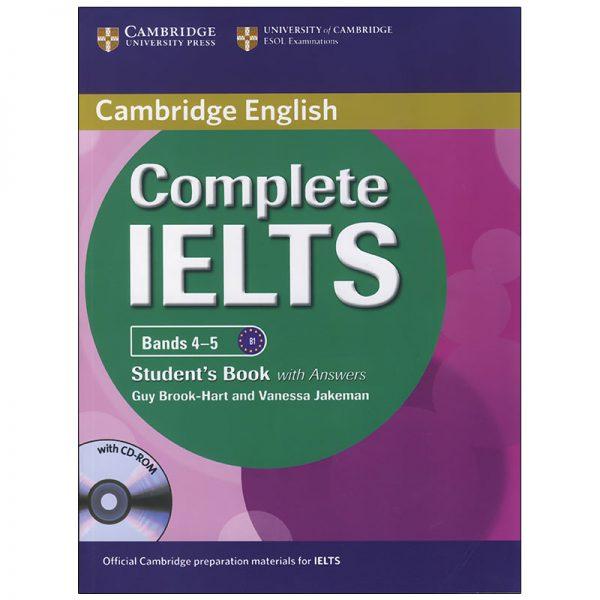 خرید                      کتاب complete IELTS bands 4-5 اثر Guy Brook-Hart and Vanessa Jakeman انتشارات زبان مهر