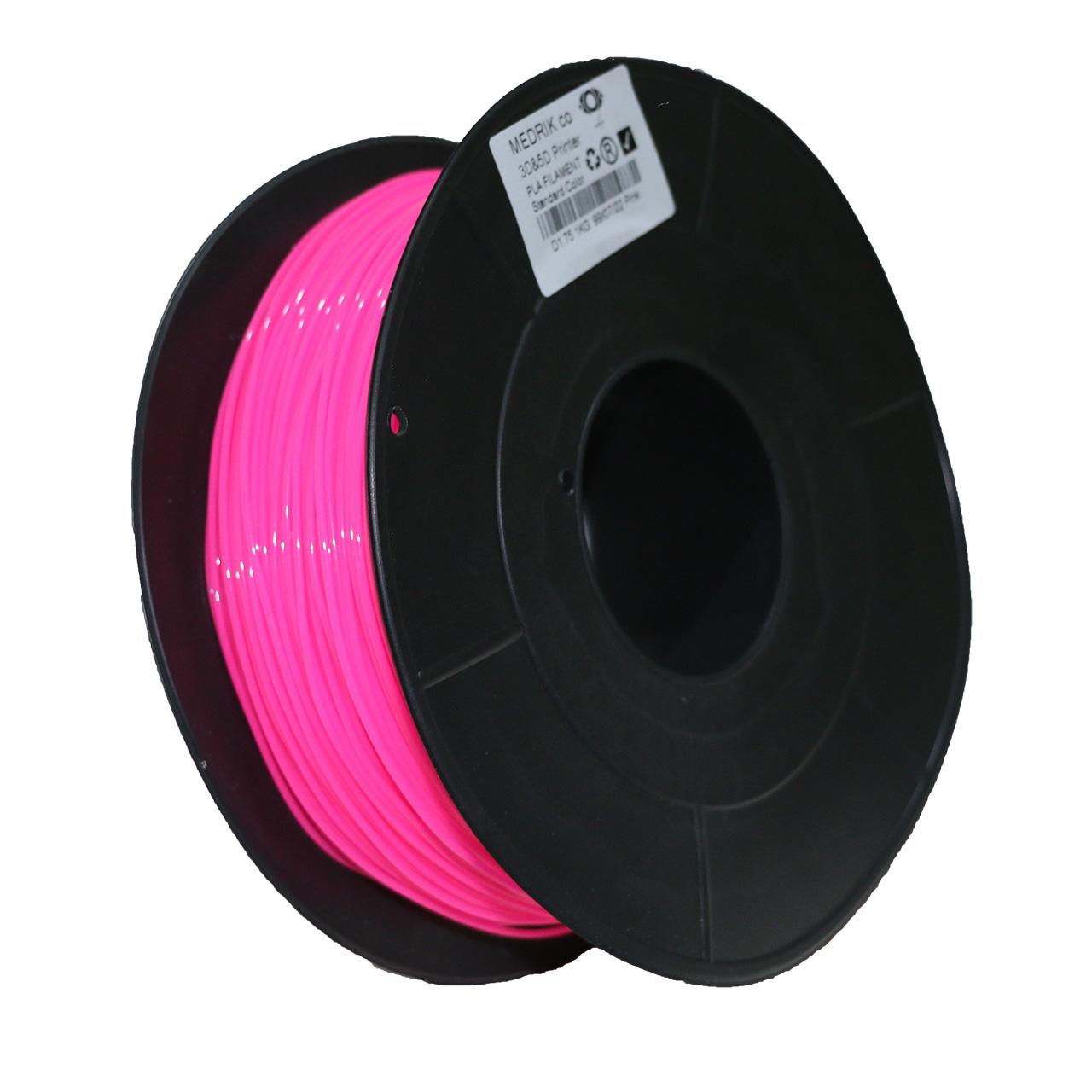 فیلامنت ABS پرینتر سه بعدی مدریک مدلABS123 قطر 1.75 میلیمتر1کیلوگرم