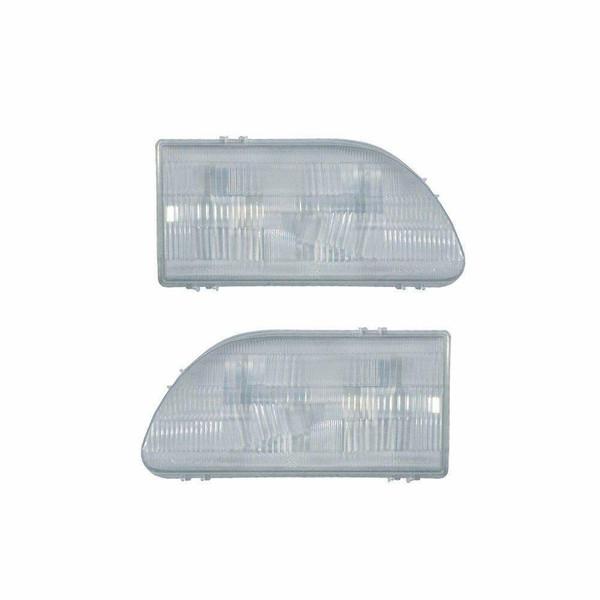 طلق چراغ جلو خودرو مدل KM 98 مناسب برای پراید صبا بسته 2 عددی