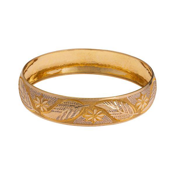النگو طلا 18 عیار زنانه گالری یار طلا کد AL31-G-2