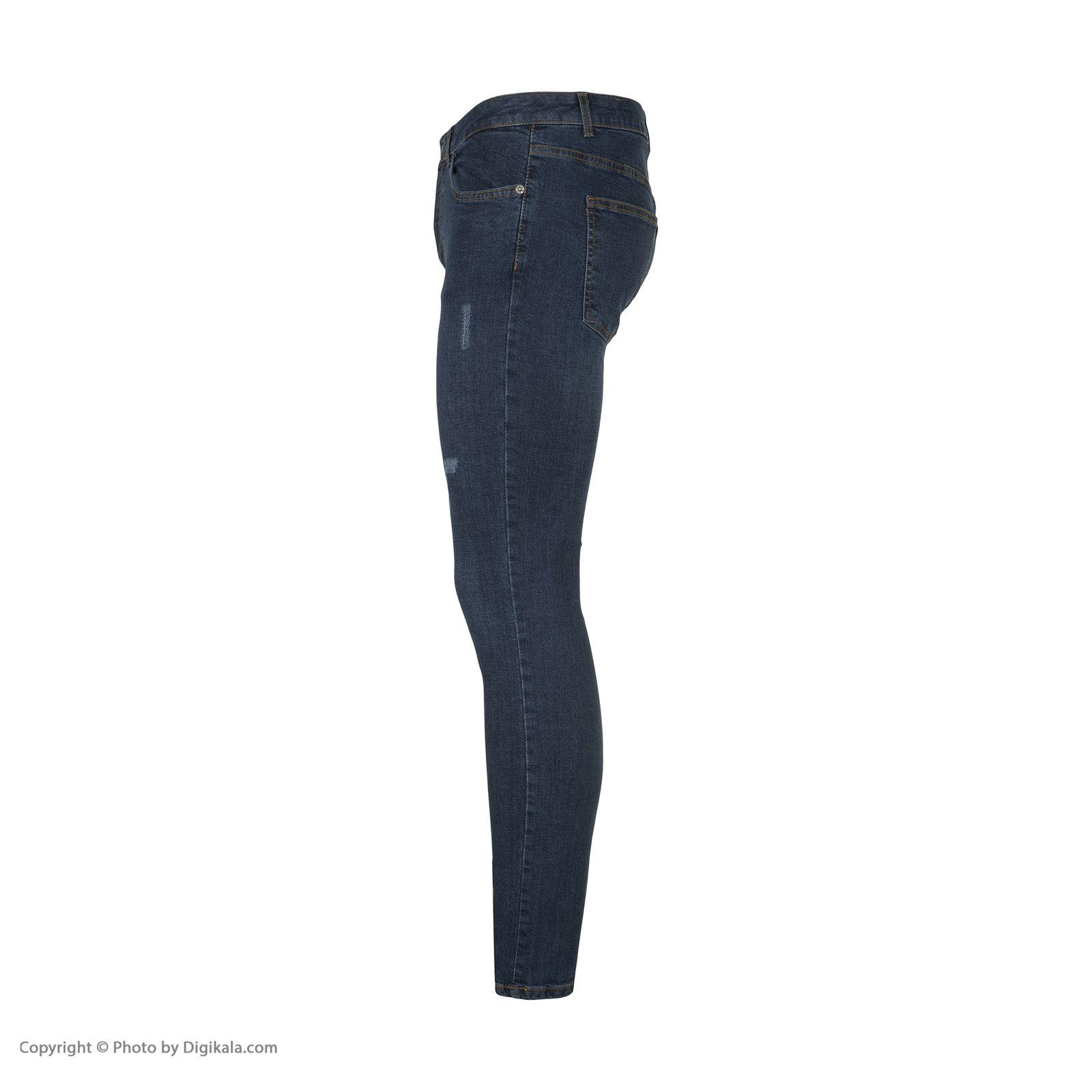 شلوار جین مردانه آر اِن اِس مدل 133051-59 -  - 3