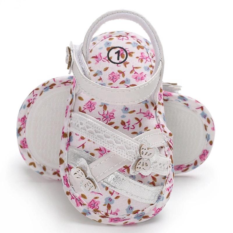صندل نوزادی دخترانه طرح پروانه کد M319