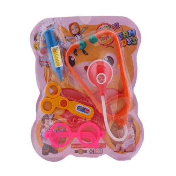 ست اسباب بازی تجهیزات پزشکی مدل خرسی