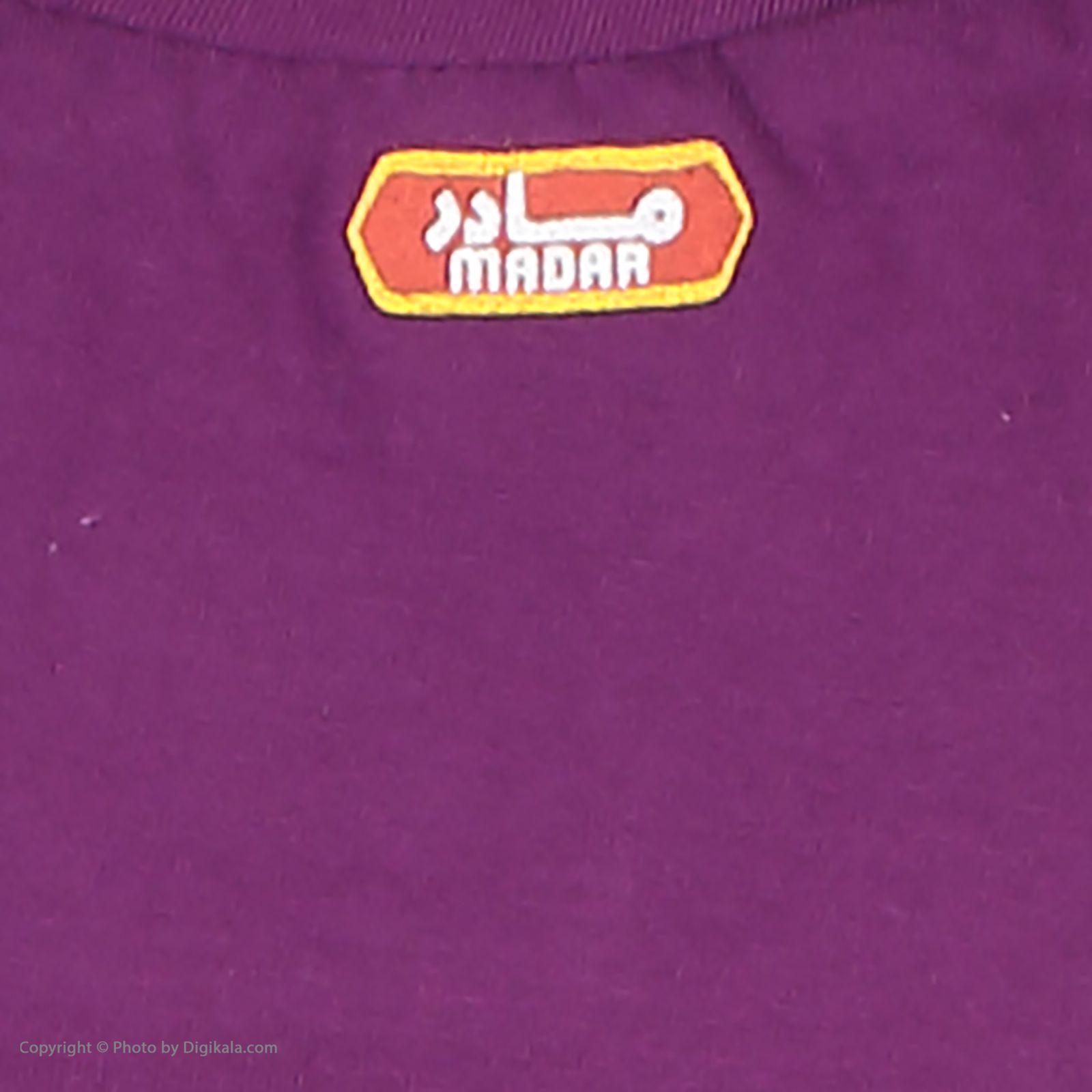 ست تی شرت و شلوارک راحتی زنانه مادر مدل 2041101-67 -  - 12