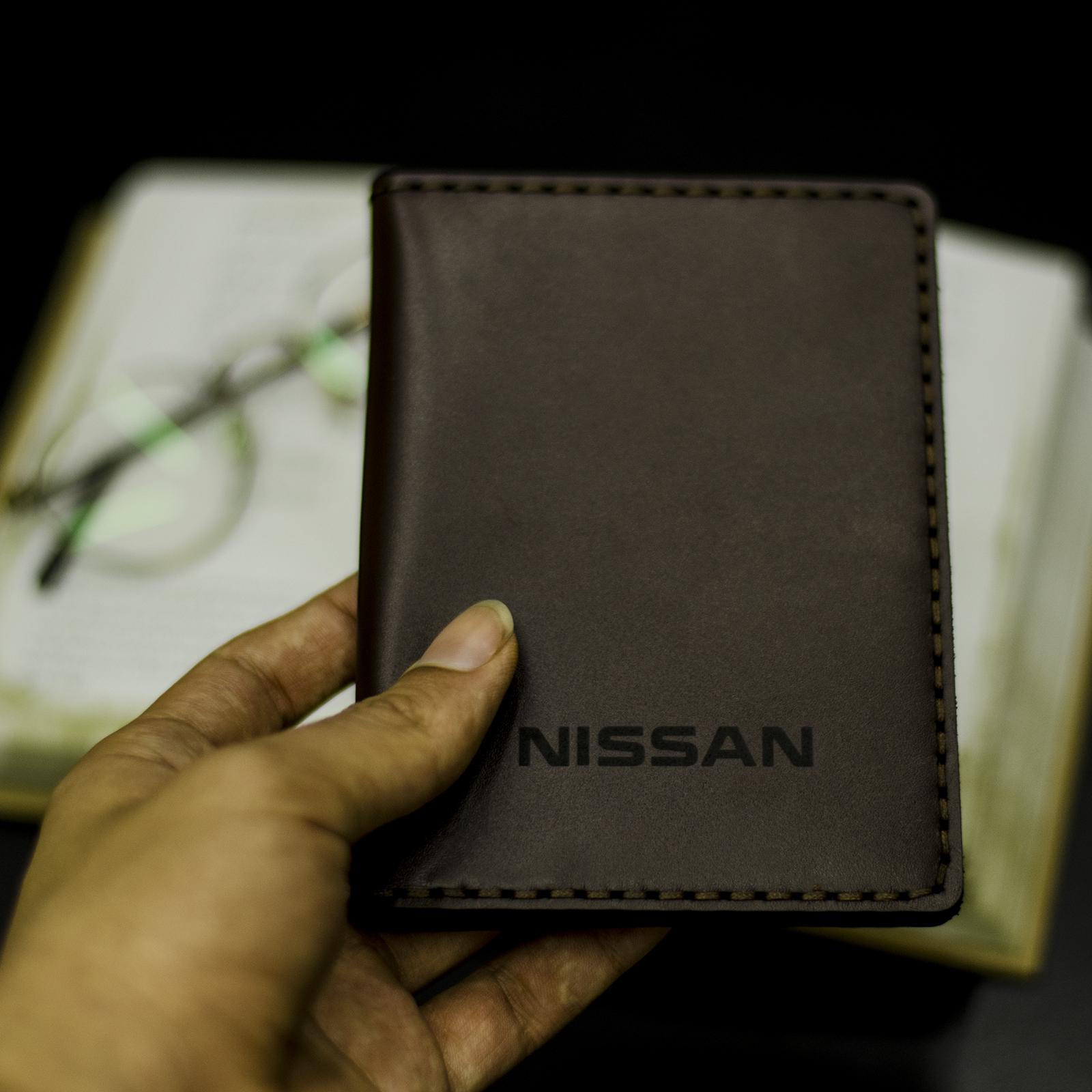 کیف مدارک مردانه چرمینه اسپرت طرح نیسان کد 43024-B main 1 6