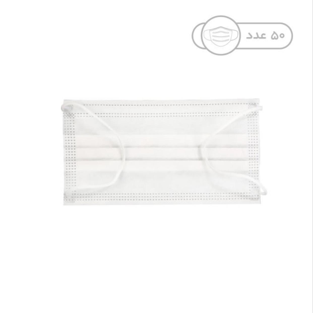 ماسک تنفسی مدل MS بسته 2000 عددی