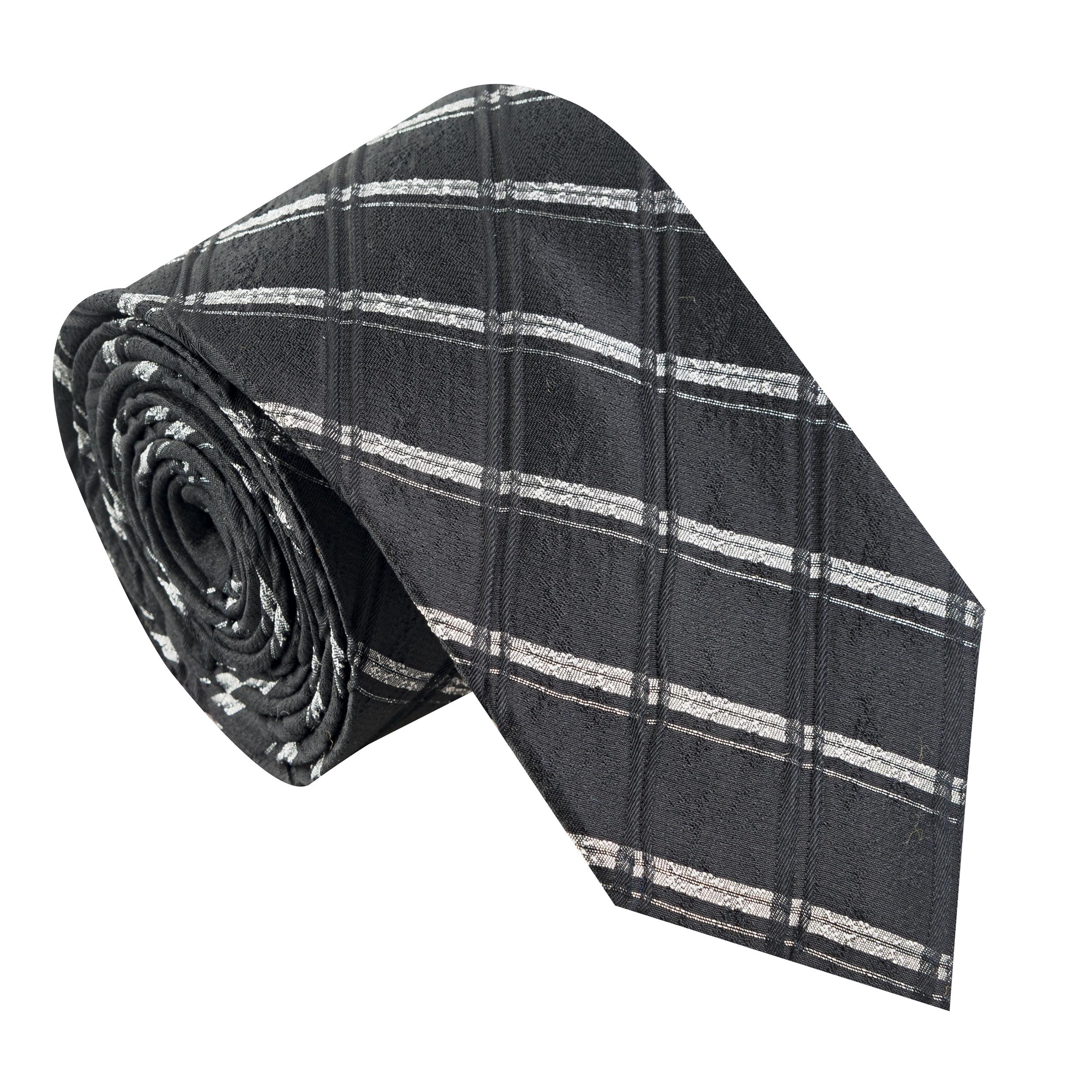 کراوات مردانه جیان فرانکو روسی مدل GF-ST533-BK