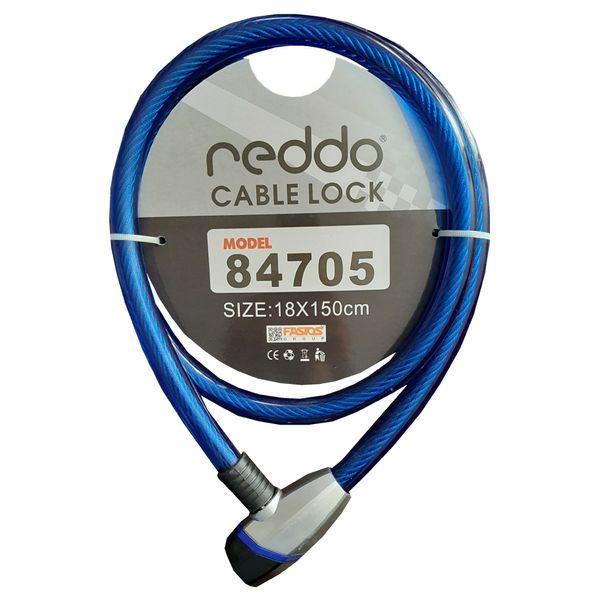 قفل موتور سیکلت کابلی ندو مدل NDO_BL