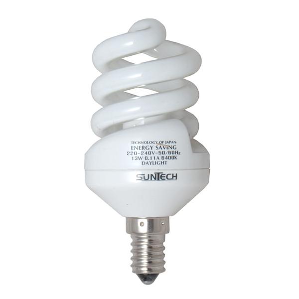 لامپ کم مصرف 13 وات سانتک مدل 010 پایه E14