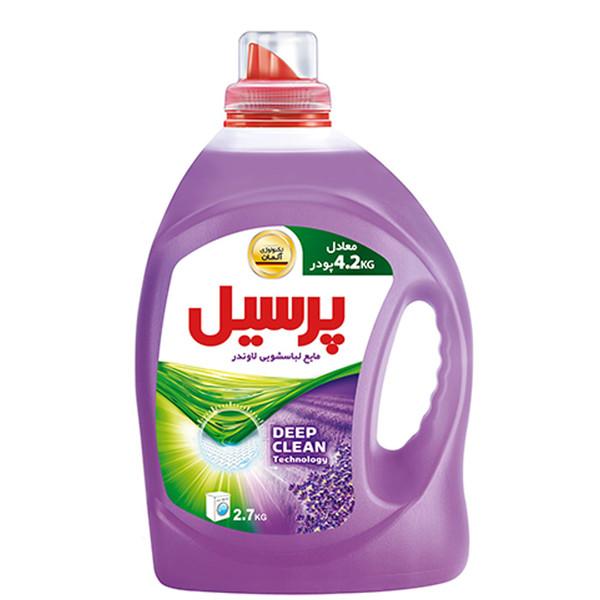 مایع لباسشویی پرسیل Deep Clean با رایحه لوندر مقدار 2.7 کیلوگرم