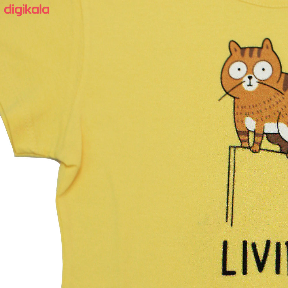 تی شرت زنانه کد TSH5A main 1 2
