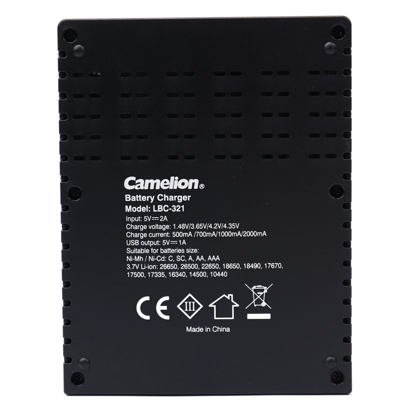شارژر باتری کملیون مدل LBC-321