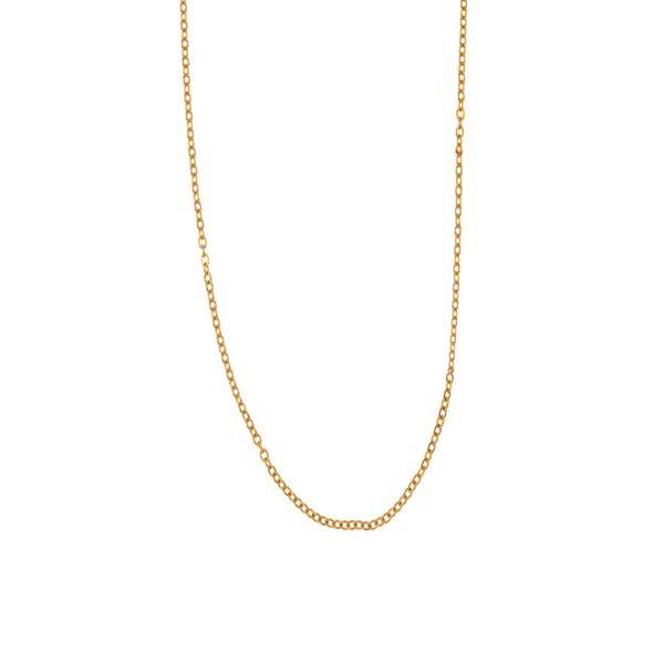 زنجیر طلا 18 عیار زنانه رزالیا مدل A8