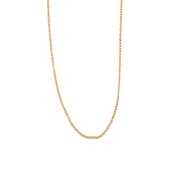 زنجیر طلا 18 عیار زنانه رزالیا مدل A7