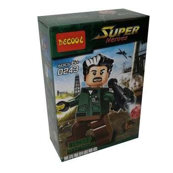ساختنی دکول مدل Super Heroes کد 055