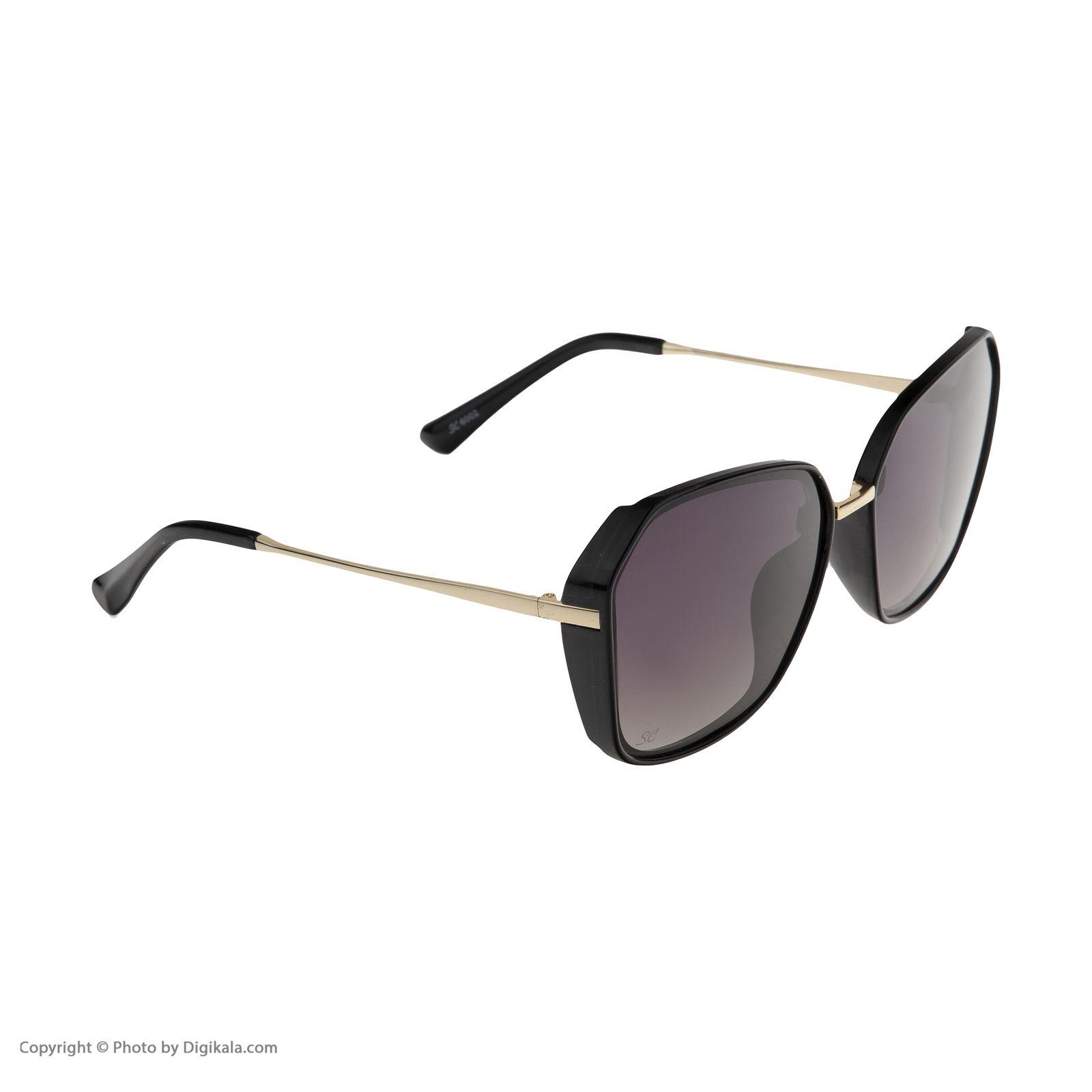 عینک آفتابی زنانه سانکروزر مدل 6002 -  - 4