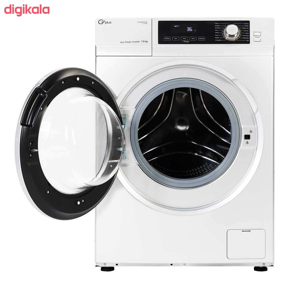 ماشین لباسشویی جی پلاس مدل GWM-K723W ظرفیت 7.5 کیلوگرم main 1 3