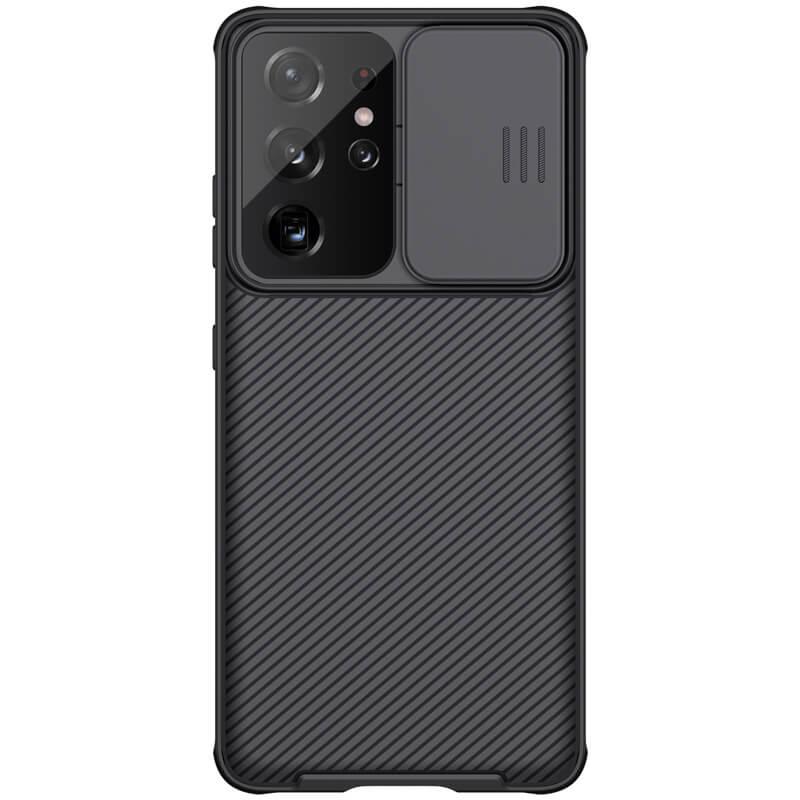 کاور نیلکین مدل camshield pro مناسب برای گوشی موبایل سامسونگ Galaxy S21 Ultra
