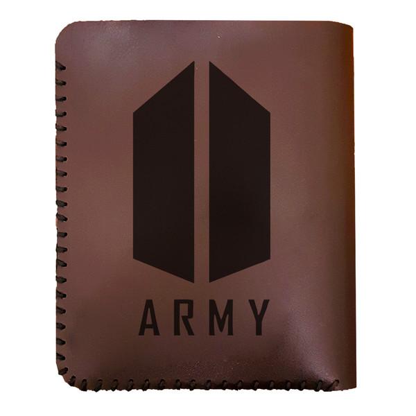 کیف پول مردانه طرح BTS Army کد 9047