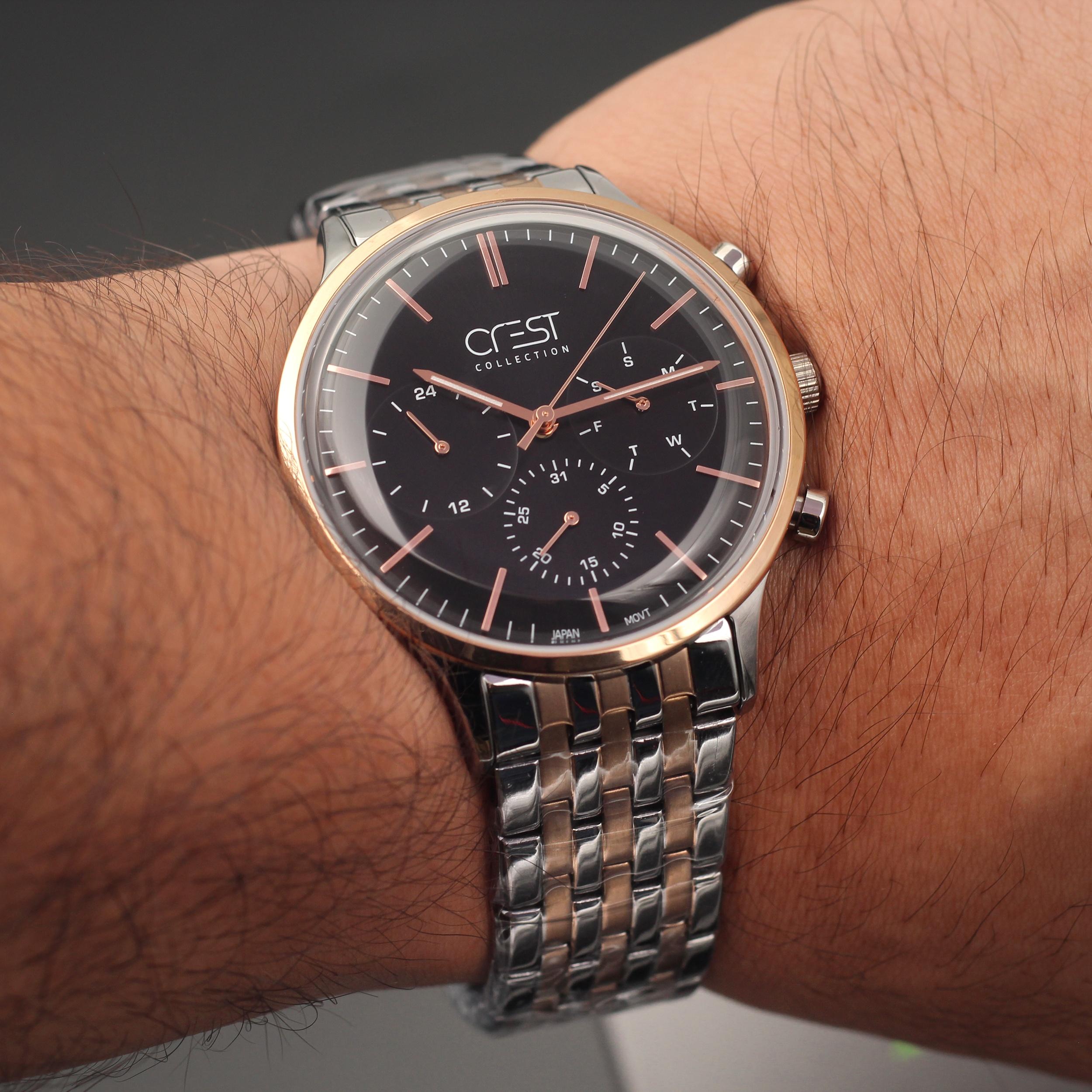 ساعت مچی عقربهای مردانه کرست مدل 2-6101