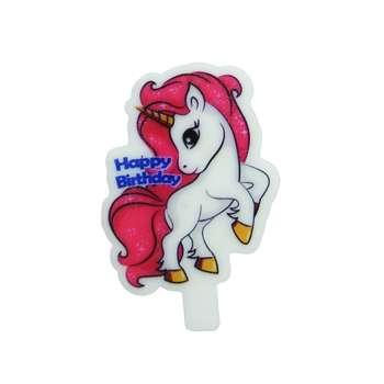 شمع تولد مدل اسب شاخدار کد 003