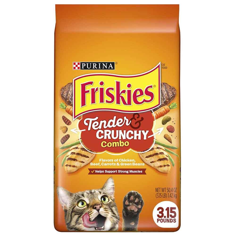 غذای خشک گربه فریسکیز مدل tender وزن 1420 گرم