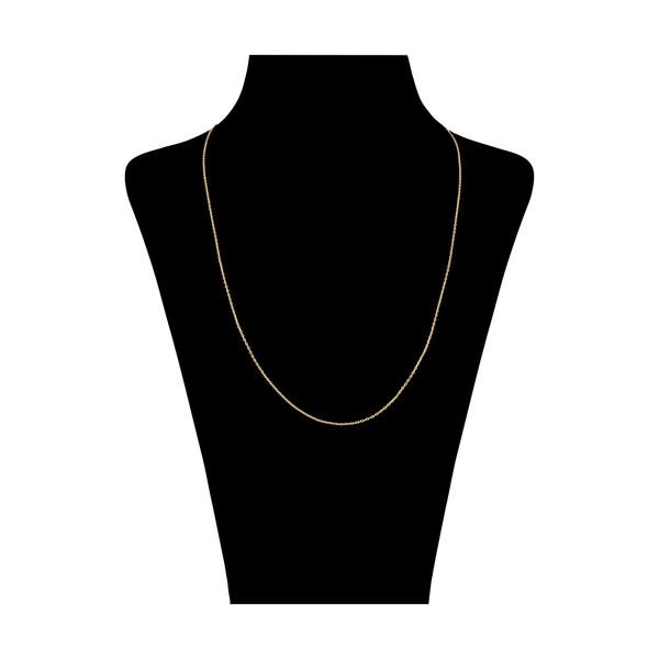 زنجیر طلا 18 عیار زنانه سنجاق مدل X072180