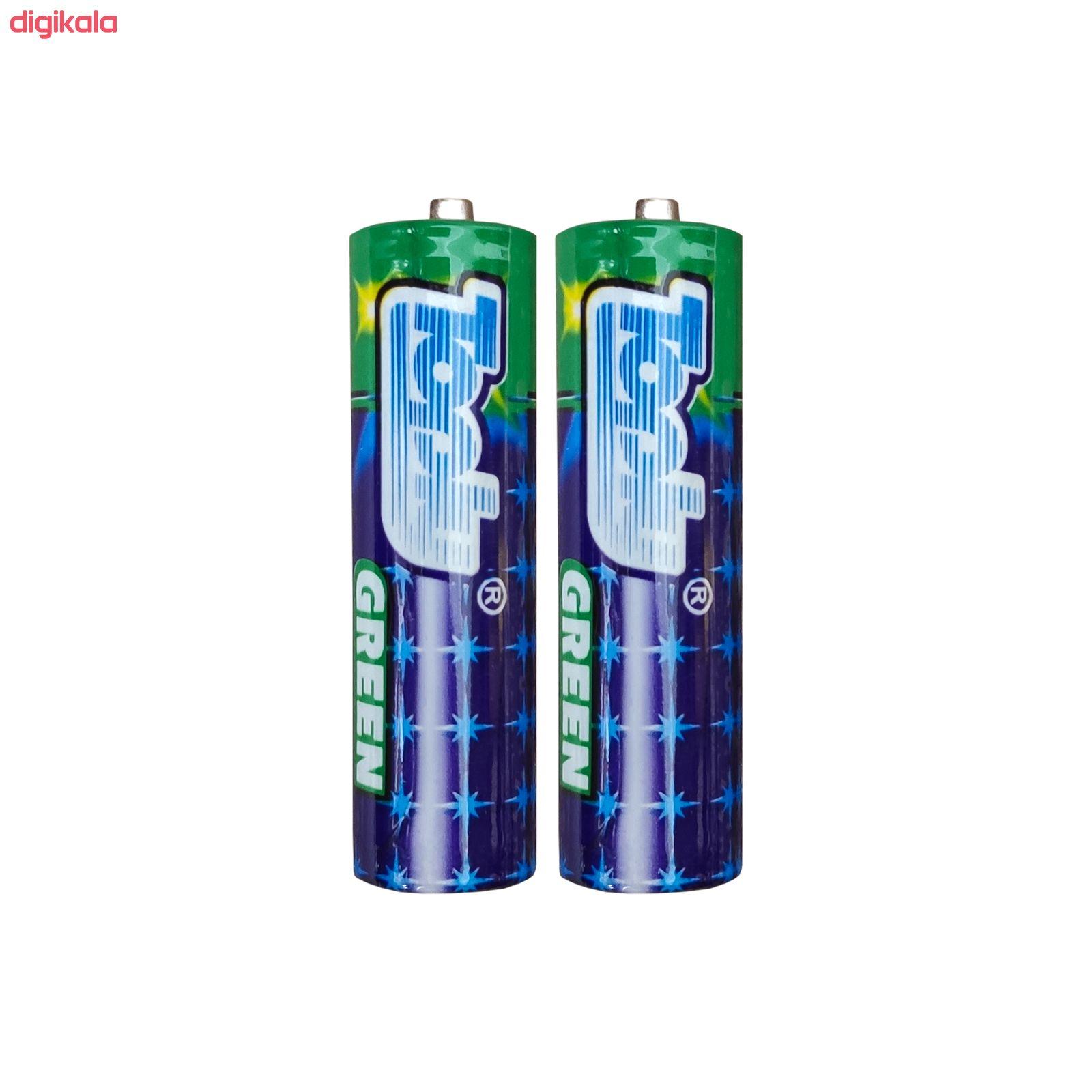 باتری قلمی تاپلی کد TP-2A بسته 2 عددی main 1 1