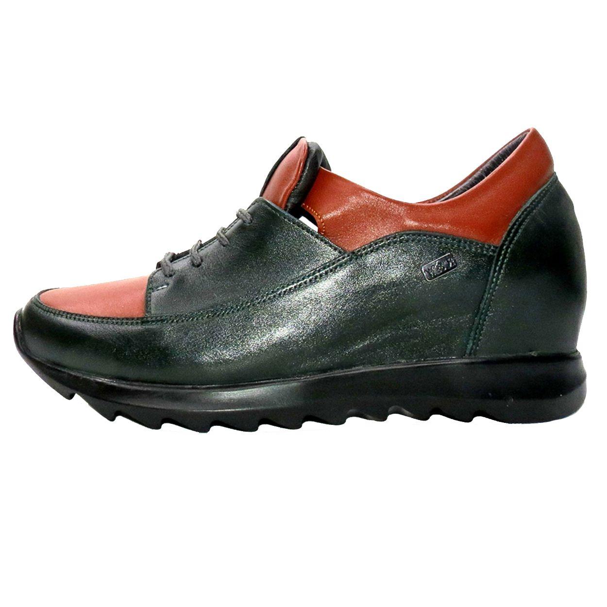 کفش روزمره زنانه آر اند دبلیو مدل 416 رنگ یشمی -  - 2