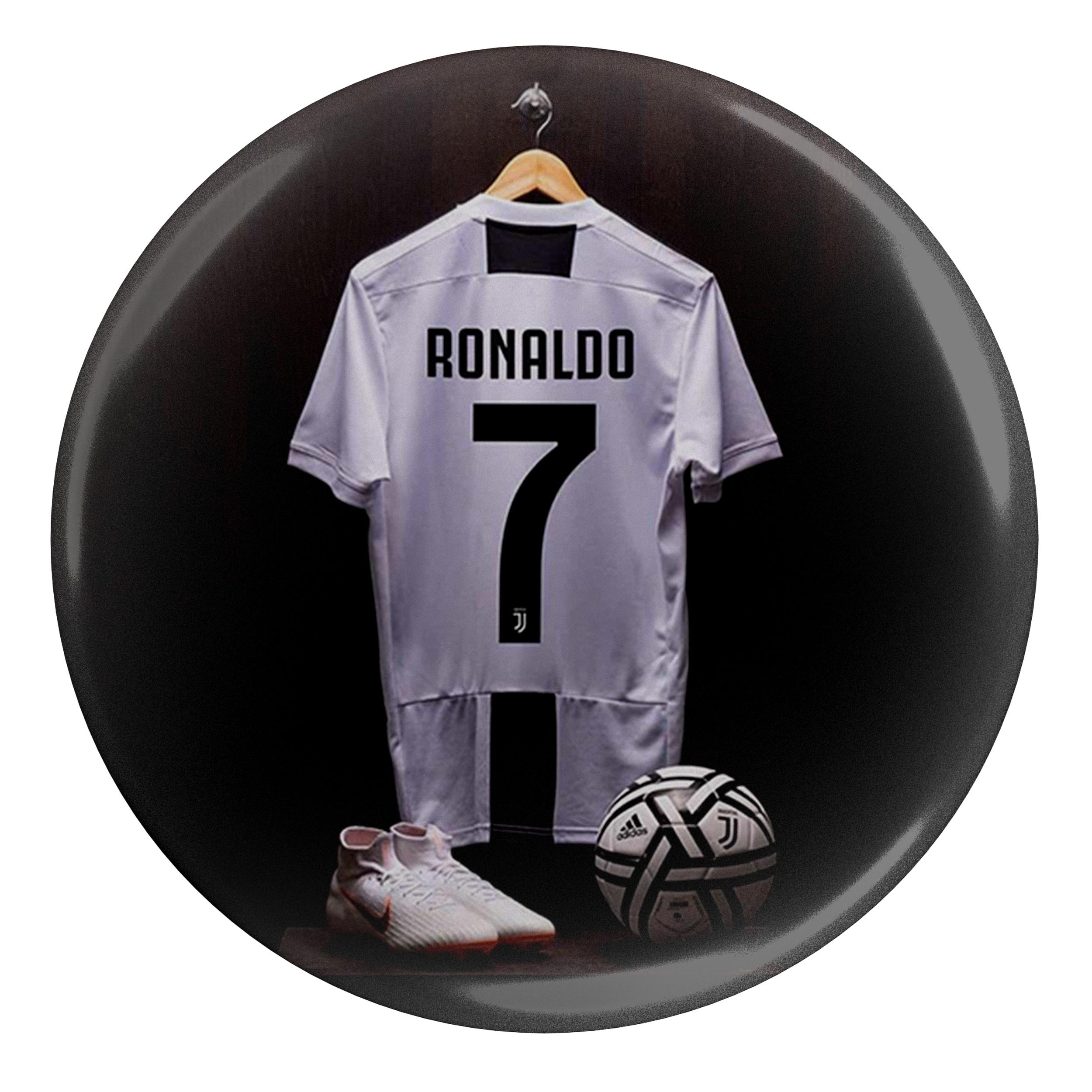 پیکسل طرح لباس بازیکن فوتبال یوونتوس ایتالیا کریستین رونالدو مدل  S4389