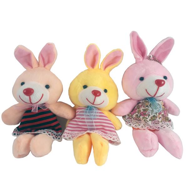 آویز عروسکی طرح خرگوش زبلکد M999 بسته 3 عددی