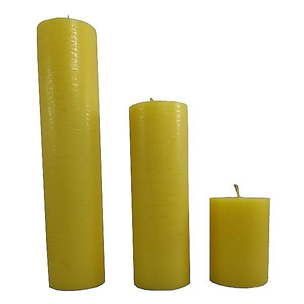شمع  مدل استوانه کد 33351015 مجموعه 3 عددی