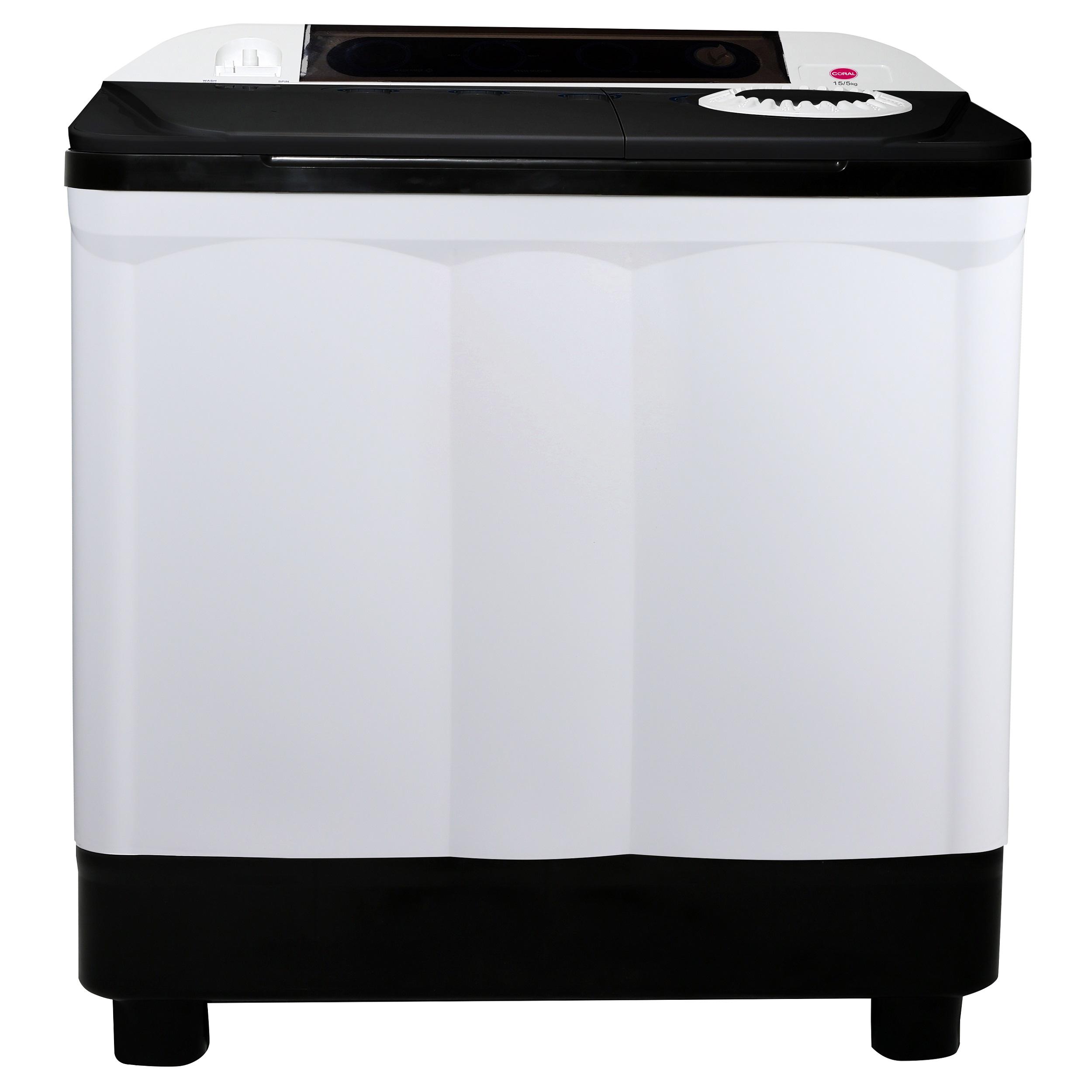 ماشین لباسشویی کرال مدل  TTW 15524 KJ ظرفیت 15.5 کیلوگرم