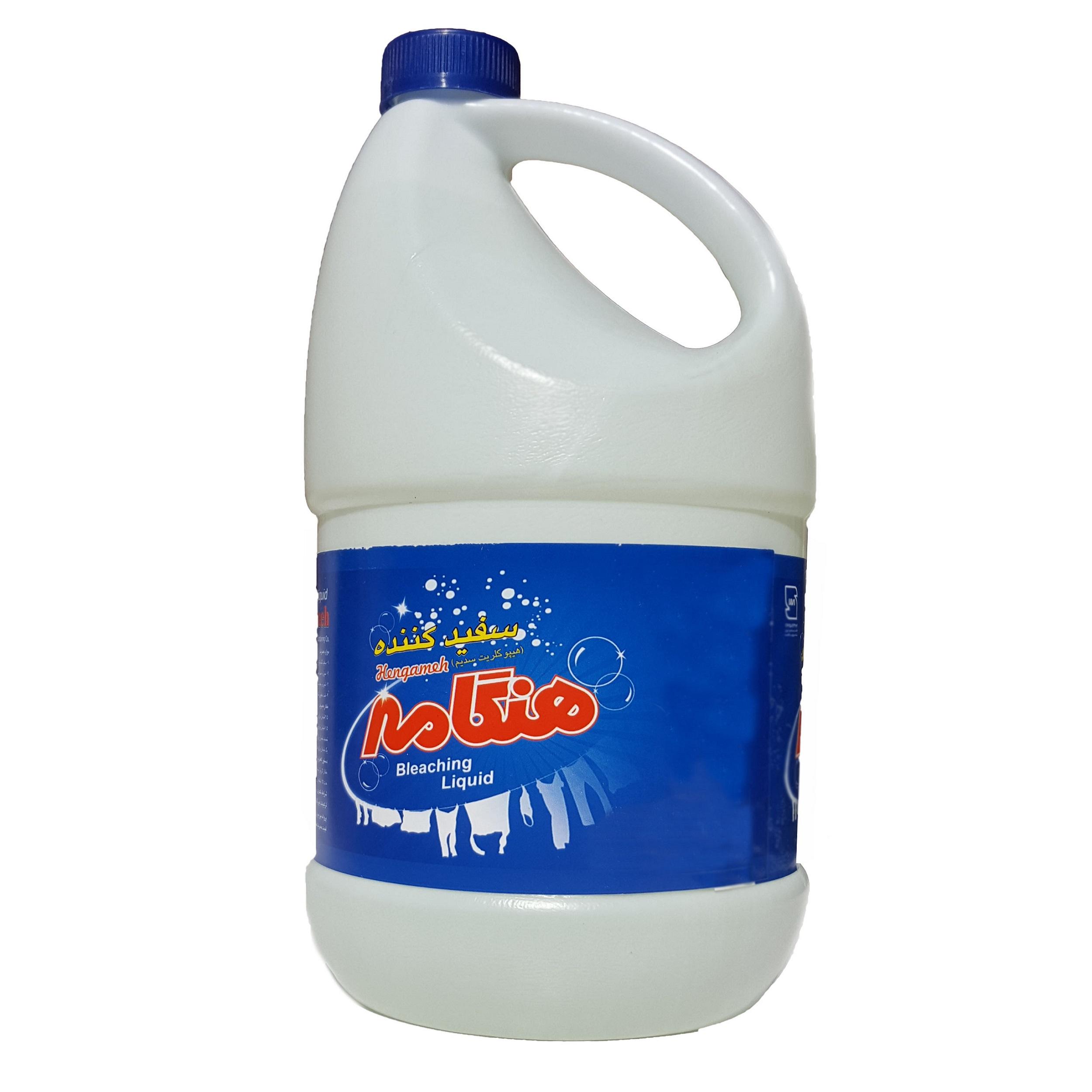 خرید                     مایع سفید کننده هنگامه مدل Blqu4000 وزن 3000 گرم