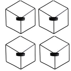 شمعدان مدل جاشمعی دیواری مدل وندا بسته 4 عددی