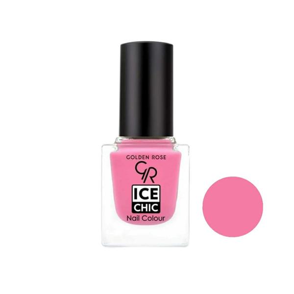 لاک ناخن گلدن رز مدل Ice chic شماره 27