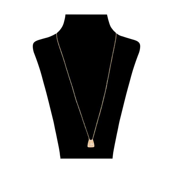 گردنبند طلا 18 عیار زنانه مدیسا مدل N7003