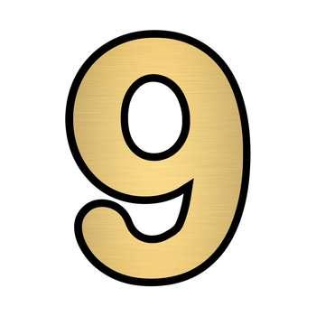 تابلو نشانگر مستر راد طرح پلاک واحد شماره 9 کد B-G 09