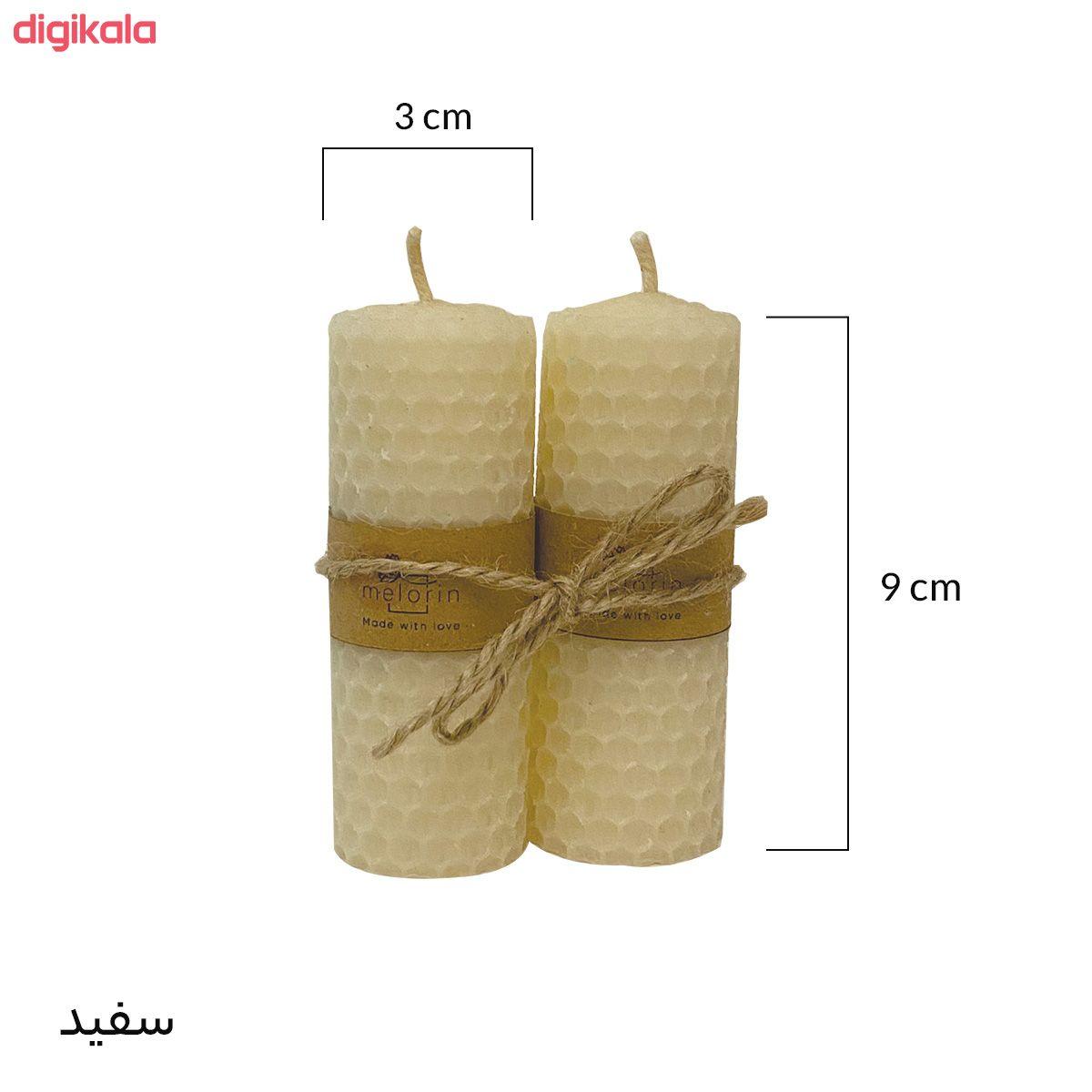 شمع ملورین کد M0010 بسته ۲ عددی main 1 11